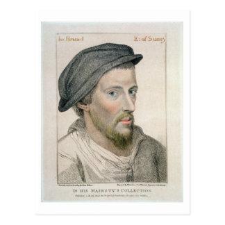 Carte Postale Henry Howard, comte de Surrey (c.1517-47) gravé