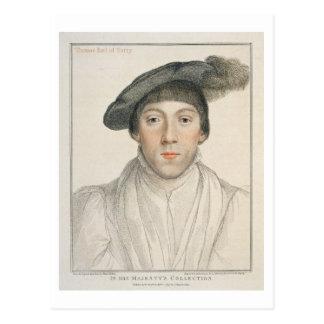 Carte Postale Henry Howard, comte de Surrey, gravé par Francesc