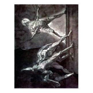 Carte Postale Henry récapitulatif Fuseli - Hamlet et Gho de son