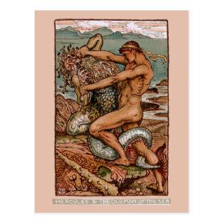 Carte Postale Hercule
