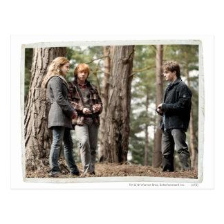 Carte Postale Hermione, Ron, et Harry 2
