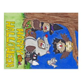Carte postale HEUREUSE de HALLOWEEN par Nicole