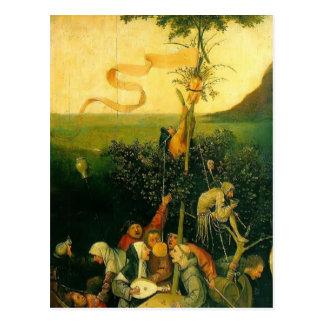Carte Postale Hieronymus Bosch- le bateau des imbéciles