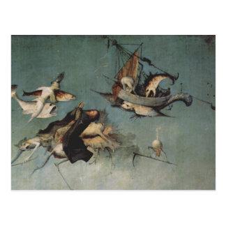 Carte Postale Hieronymus Bosch peignant l'art