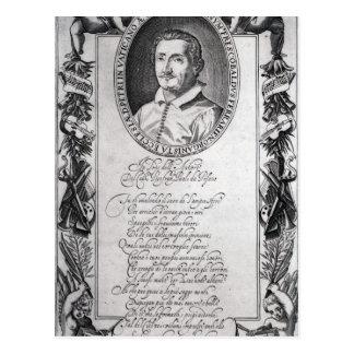 Carte Postale Hieronymus Frescobaldi, gravé par le chrétien