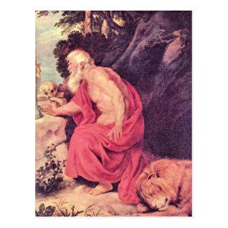 Carte Postale Hieronymus par Paul Rubens