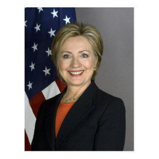 Carte Postale Hillary Clinton
