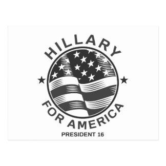 Carte Postale Hillary Clinton 16