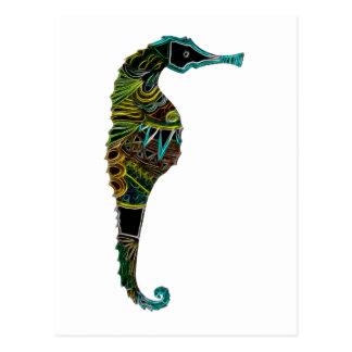 Carte Postale Hippocampe 1