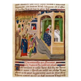 Carte Postale 'Histoire du Grand Alexandre'
