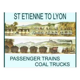 Carte Postale Histoire, transport, chemins de fer