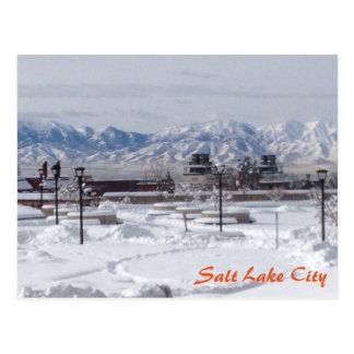 Carte Postale Hiver à Salt Lake City