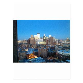 Carte Postale Hiver de Minneapolis