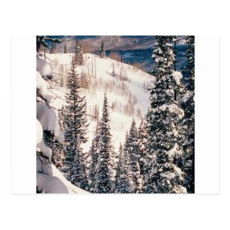 Carte Postale Hiver le calme avant la tempête Brighton Utah