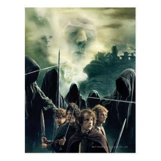 Carte Postale Hobbits prêt à lutter