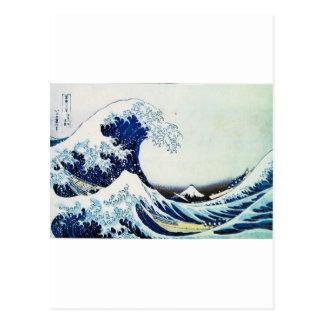 Carte Postale Hokusai.