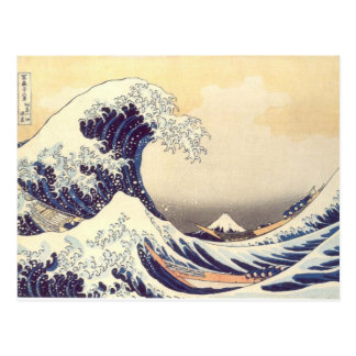 Carte Postale Hokusai 'le grand Wave