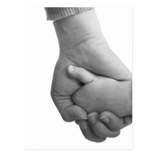 Carte Postale holding hands