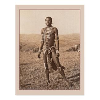 Carte Postale Homme africain