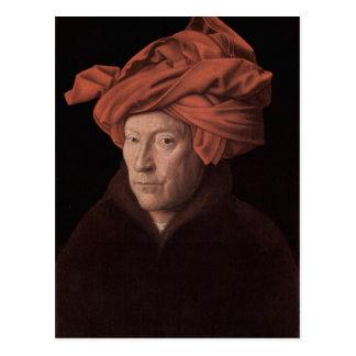 Carte Postale Homme dans un turban