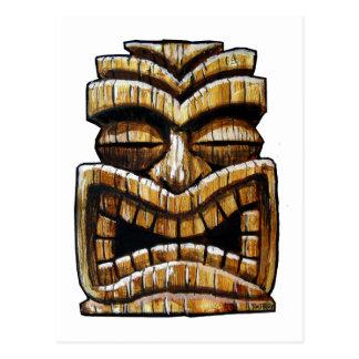 Carte Postale Homme de Tiki