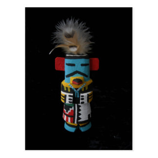 CARTE POSTALE HOPI KACHINA EAGLE