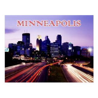 Carte Postale Horizon au crépuscule, Minneapolis, Minnesota