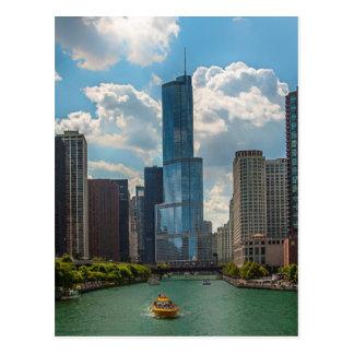 Carte Postale Horizon Chicago