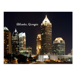 Carte Postale Horizon d'Atlanta, la Géorgie