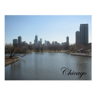Carte Postale Horizon de Chicago