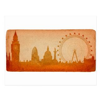 Carte Postale Horizon de Londres