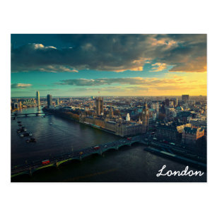 Carte Postale Horizon de Londres