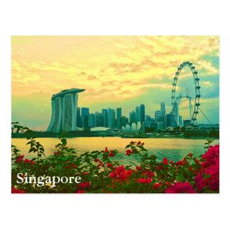 Carte Postale Horizon de Singapour