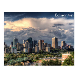 Carte Postale Horizon d'Edmonton, Canada