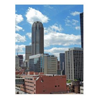Carte Postale Horizon du centre de Pittsburgh