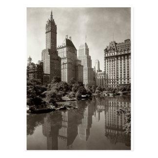 Carte Postale Horizon vintage de New York City
