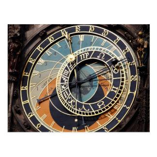 Carte Postale Horloge astronomique dans Praque