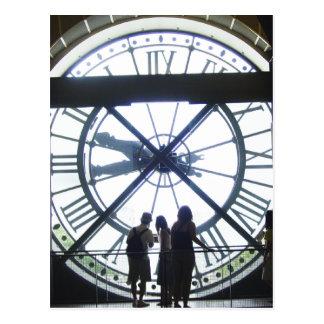 Carte Postale Horloge d'Orsay de Museé