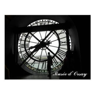 Carte Postale Horloge d'Orsay de Musée (texte)