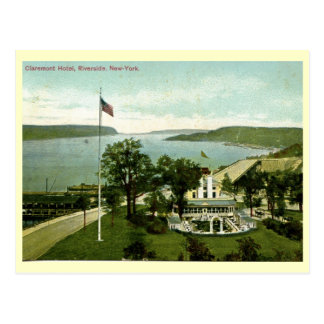 Carte Postale Hôtel de Claremont, rive, cru 1911 de NY