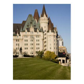 Carte Postale Hôtel de Laurier de château à Ottawa, Ontario,