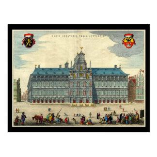 Carte Postale Hôtel de ville d'Anvers