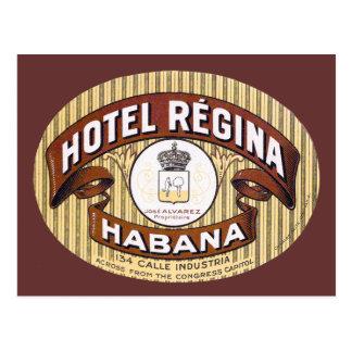 Carte Postale Hôtel Regina Habana Cuba