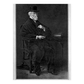 Carte Postale Hubert George de Burgh-Mettre en boîte