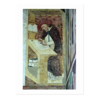 Carte Postale Hugues De Provence à son bureau, du cycle de