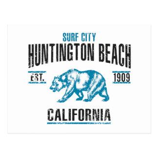 Carte Postale Huntington Beach