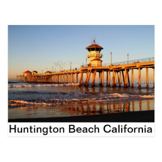 Carte Postale Huntington Beach la Californie