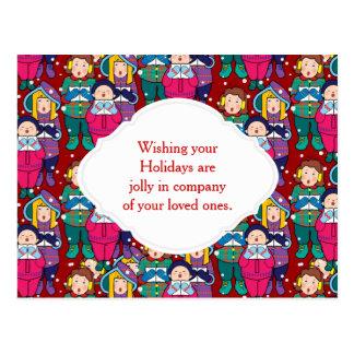 Carte Postale Hymnes de louange d'hiver de Noël