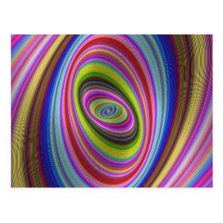 Carte Postale Hypnose colorée