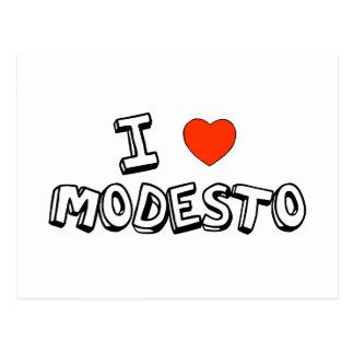 Carte Postale I coeur Modesto